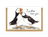 Gemma O'Neill 'I Puffin Love You' Card